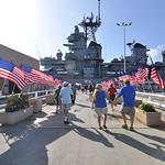 U.S.S. Missouri http://en.wikipedia.org/wiki/USS_Missouri_(BB-63)