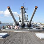 USS Missouri http://en.wikipedia.org/wiki/USS_Missouri_(BB-63)
